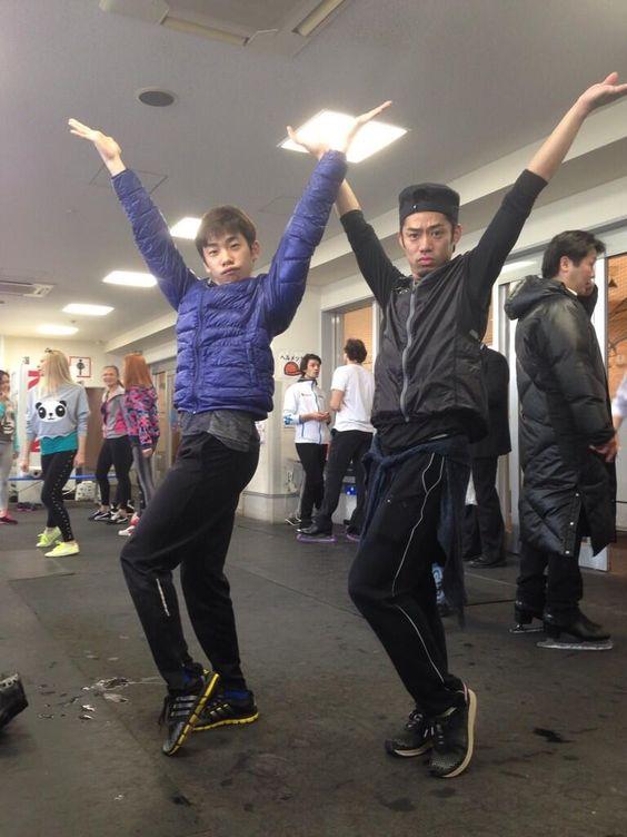 Fantasy on ICE 2104 in Makuhari ,Chiba ,JAPAN高橋大輔さんと織田信成さん