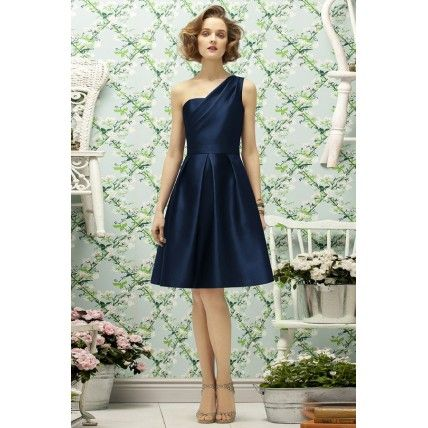 40 Beautiful Blue Bridesmaid Dresses Fashionably Yours -- Genesis Midnight – The Knot