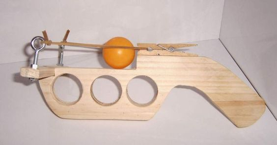 Ping Pong Launcher - ballistic