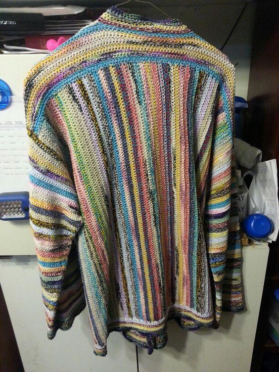 Scrap thread sweater-so comfy!!!
