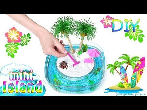 Mini Island In Ocean With Zen Garden Zen Garden Diy Zen Garden Beach Crafts Diy