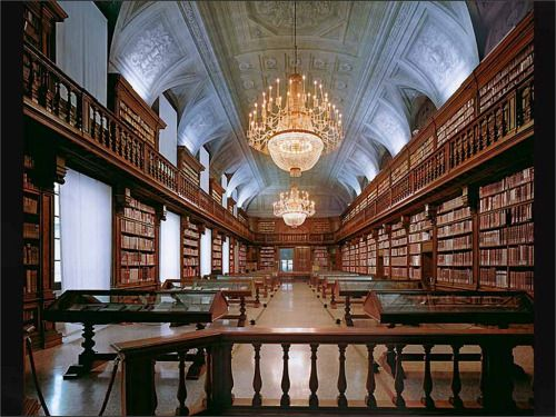The Braidense National Library (Italian: Biblioteca Nazionale Braidense), located in Milan, is one of Italy's largest libraries. Initially it contained large historical and scientific collections before it was charged with the legal deposit of all...