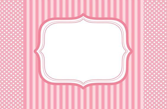 Kit en rosa para imprimir gratis. | Ideas y material gratis para fiestas y celebraciones Oh My Fiesta!