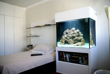 decorar com aquario