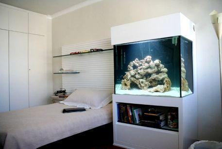 decorar com aquario