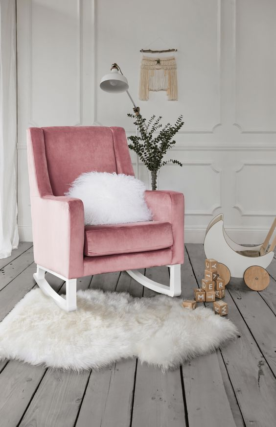 21 Nursery Rocking Chair For Your Comfort And Child Interiordesignshome Com In 2020 Rocking Chair Nursery Nursery Chair Modern Rocking Chair Nursery