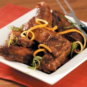 Chinese style pork ribs