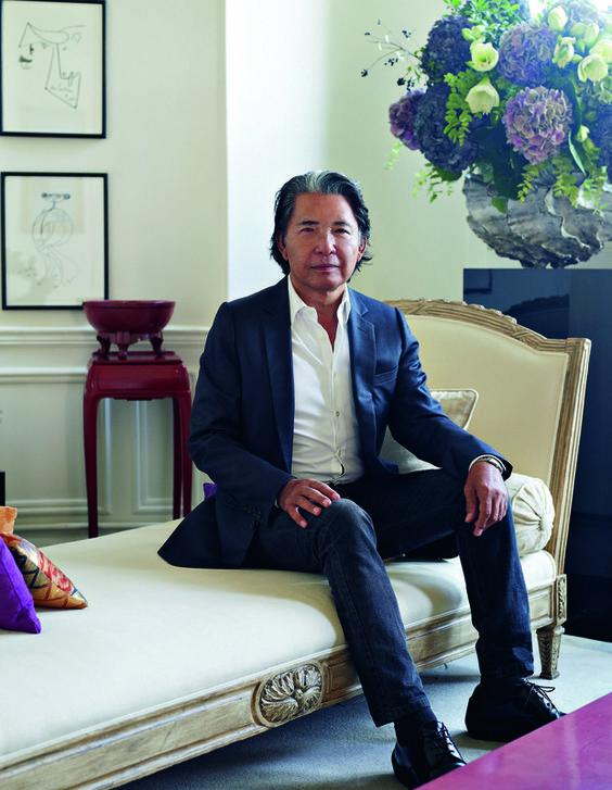 O estilista Kenzo Takada abre as portas do seu novo lar, em Paris - http://epoca.globo.com/colunas-e-blogs/bruno-astuto/noticia/2014/01/o-estilista-bkenzo-takadab-abre-portas-do-seu-novo-lar-em-paris.html (Foto: Casa Vogue)