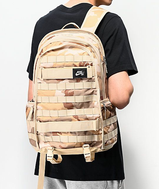 Vaticinador sol violinista  Nike SB RPM Camo Backpack   Camo backpack, Backpacks, Nike sb