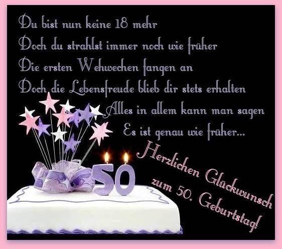Geburtstagswunsche 50 Geburtstag Freundin Beautiful Herzlichen