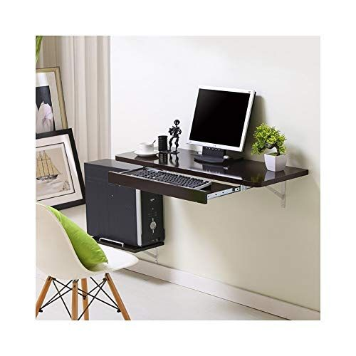 Kxbymxsimple Folding Table Simple Desktop Computer Desk Wall