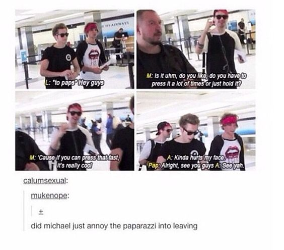 I feel bad that they actually have to deal with the paps. Why can't they just be All Time Low famous :(