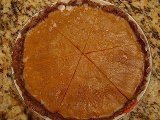 Vegan No Bake Pumpkin Pie (Gluten & Soy Free)