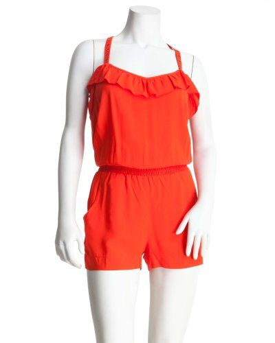 2b Solid Kenzie Romper: Kenzie Romper, Solid Kenzie, 2B Solid, Womens Jumpsuits Rompers