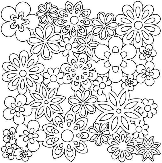 Gesammelten Blumen Färbung Seite 4832