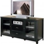 $865.00  Martin Home Furnishings - Tribeca Loft Black Tall Console for Flat Panel Television - TL363