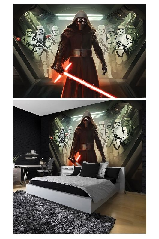Huge Wallpaper Mural For Boys Bedroom Star Wars Imperial Force Giant Photo Wall Wallpaper Wall Mural Mural Wallpaper Star Wars Room Decor Star Wars Wall Mural