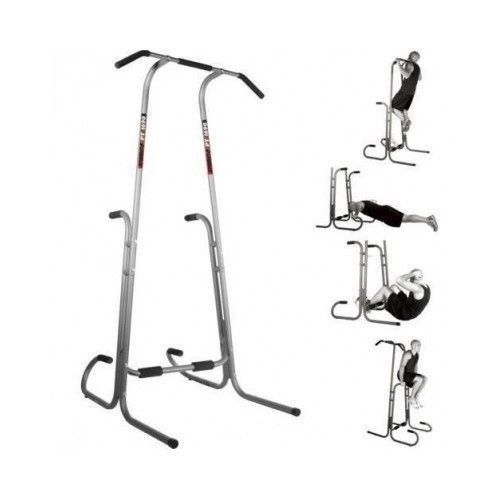 Pull up bar station power tower exersize gym equipment stand weight workout d - Dip etanche multi usage ...