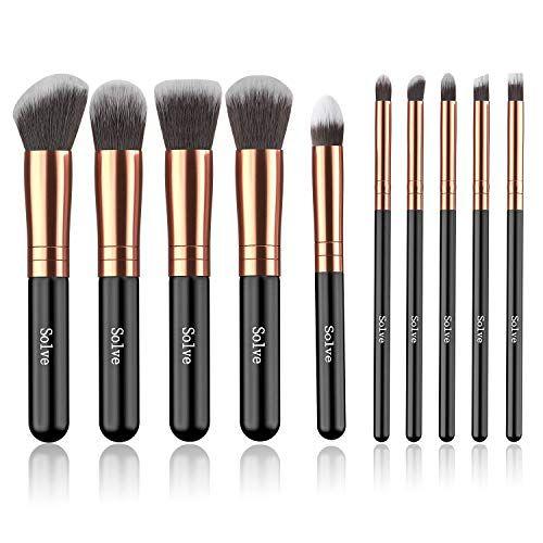 Makeup Brushes Solve Premium Makeup Brush Set Synthetic Cosmetics Foundation Powder Concealers Blendin Makeup Brush Set Makeup Brush Set Best Makeup Brush Kit
