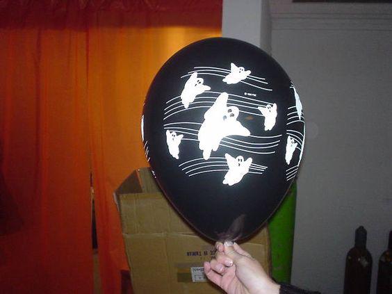 #Luftballon #Dekoration für verschiedene Anlässe #halloween #balloon #ghost