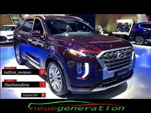 2020 Hyundai Palisade Redline First Look 2018 La Auto Show La Auto Show Hyundai Hyundai Cars