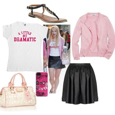 10 ways to dress like the girls of mean girls mean girls for High fashion meaning