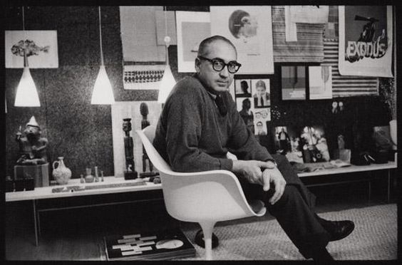 Master of film title design, Saul Bass died #onthisday in 1996. #DesignandDesigners http://bit.ly/11oWFyN
