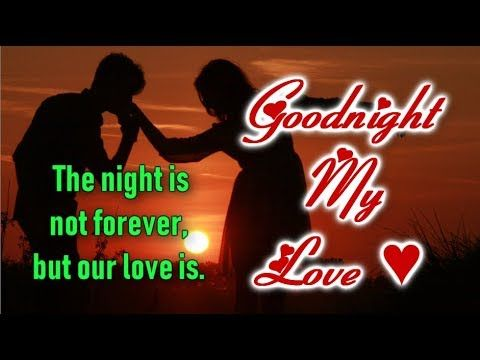 Youtube Good Night I Love You Good Night Quotes Sweet Dreams Love