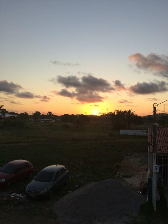 Pôr do sol em Tamandaré ❤️