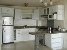 decoracin de cocinas pequeas y sencillas2 cocina pinterest dentro diseos de cocinas pequeas - Cocinas Pequeas De Diseo