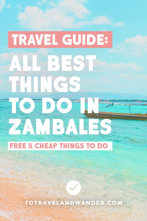 List of All Best Things To Do in Cove Zambales Philippines
