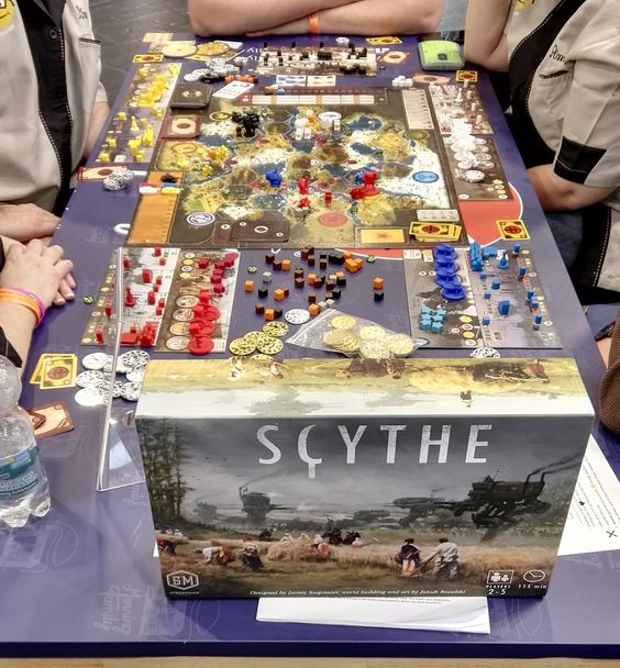 Scythe is a 4x board game set in an alternate-history 1920s period ...
