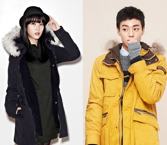 IU and Lee Hyun-woo Become Models of 'Unionbay' Together