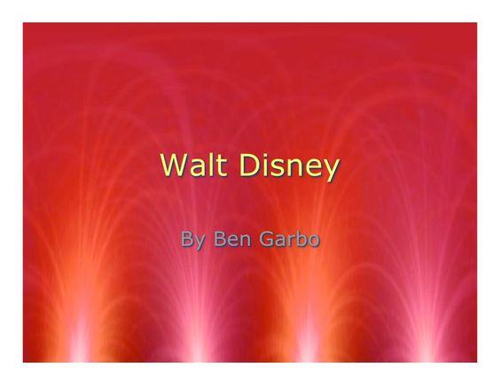 walt-disney-2154698 by bsgarbo via Slideshare