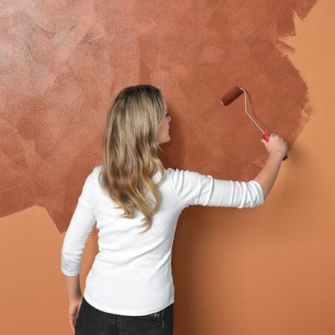 Wandgestaltung In Rost Optik Schoner Wohnen Farbe Schoner Wohnen Farbe Wandgestaltung Wandgestalltung