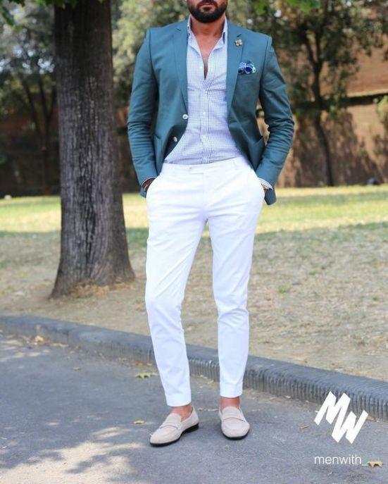 24 Beach Wedding Guest Outfits For Men Look Moda Masculina Moda