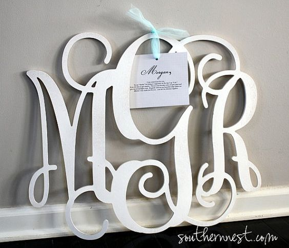Bridesmaid Gifts/Maid of Honor GiftLarge 18 by charminglittlenest, $46.00: