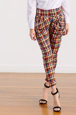 Fancy Pants- Plaid
