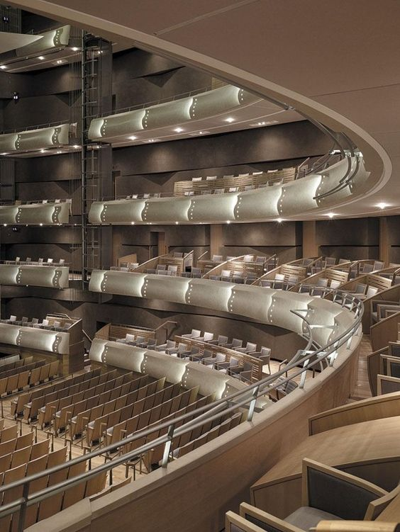 Four Seasons Centre For The Performing Arts Interior Purpose Built Performance Space Auditorium Design Theater Architecture Hall Design