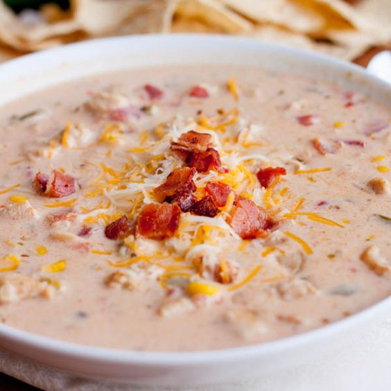 Jalapeño Popper Chicken Chili - this won our chili cook-off at work ...
