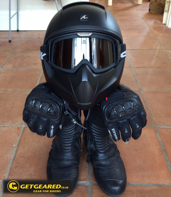 #bikerhobbits This is Vancore Vinnie, sporting the awesome Shark Vancore helmet from GetGeared