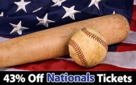 43% off Washington Nationals Tickets vs Colorado Rockies Fri. Jul. 7 @ 7:05pm
