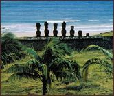 Easter Island: a good place to visit on Easter, obviously not this year since it's over