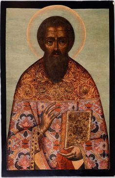 Saint Hieromartyr Artemon Century: XVII  Storage Location: Private Collection  Size: 122 x 77.4 cm