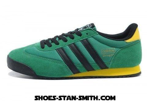 Adidas 50% Off | Adidas Originals Dragon Shoes Green-Black-Yellow ...