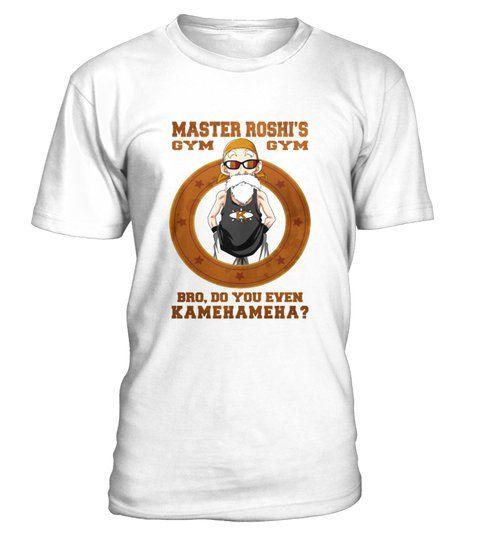Goku Insaiyan Funny cool T-shirt MASTER ROSHY/'S GYM Dragon Ball Z
