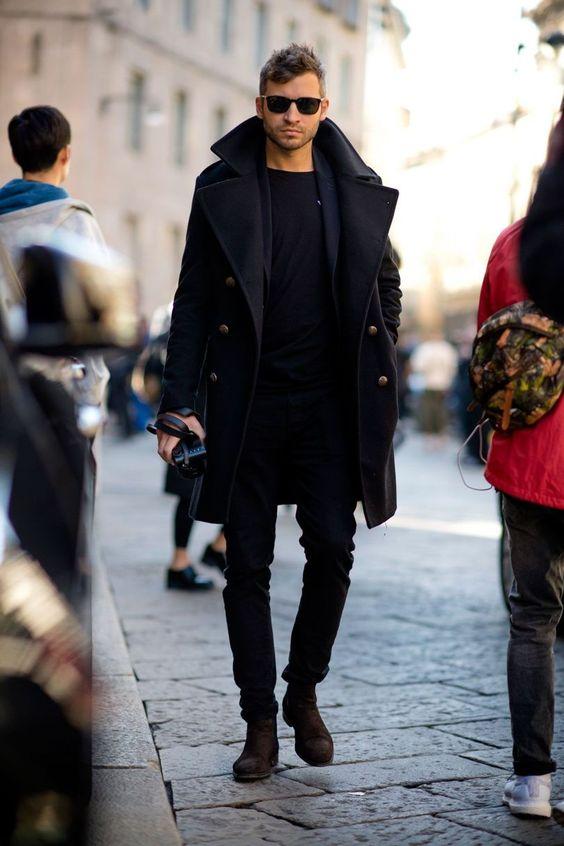 Street Style Winter Men Jacket