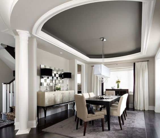 Painted Tray Ceilings, Tray Ceilings And Painted Trays On