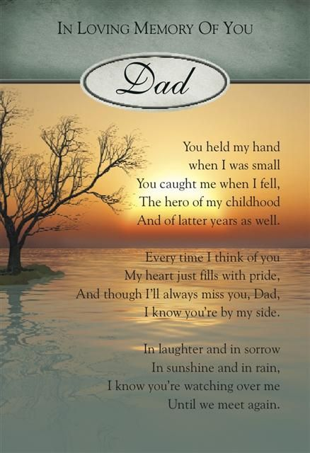 in memory of fathers | Graveside Bereavement Memorial Cards (a) VARIETY You Choose | eBay