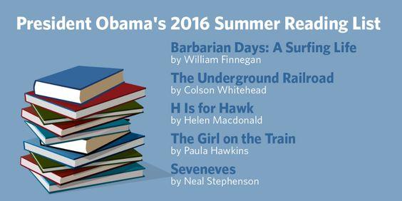 President Obama's summer reading list